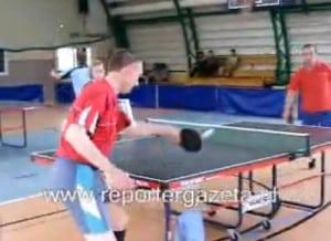 Powiatowa Olimpiada tenisa stołowego – relacja VIDEO
