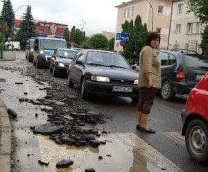Ropczyce – poranek po katastrofie powodzi – relacja VIDEO
