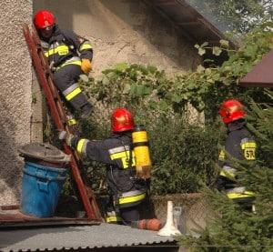 Pożar w Sędziszowie  – galeria ZDJĘĆ i relacja VIDEO