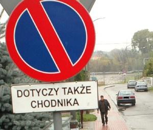 Parkują pomimo zakazu