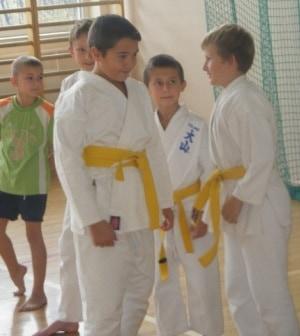 Karate w Wielopolu – galeria ZDJĘĆ