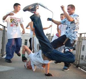 Nasze chłopy potrafią tańczyć