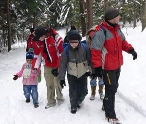 Młodzieży z Nawsia niestraszny śnieg