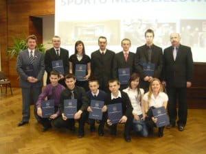 Nagrodzono sportowców i trenerów z powiatu