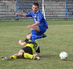 Tryumf Błękitnych w pierwszym meczu wiosny – galeria ZDJĘĆ