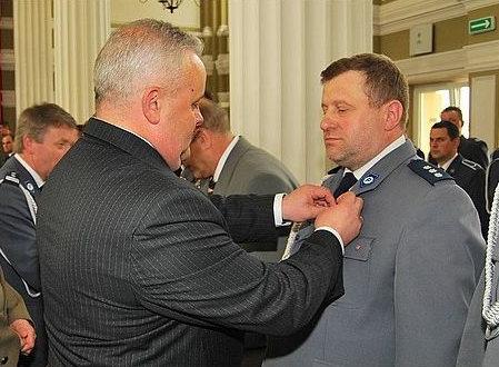 Komendant Szeliga dostał medal