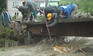Powódź Zagorzyce 4.06,2010 – galeria ZDJĘĆ