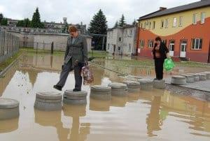 Powódź w Sędziszowie 3.06.2010 – relacja VIDEO