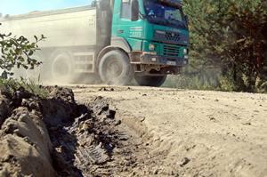 Budują autostradę, ale łamią przepisy