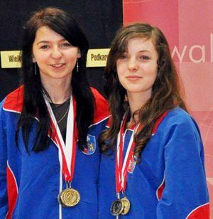Badmintonistki Sokoła najlepsze w OOM