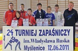 Zapaśnicy klubów z Lubziny i Skrzyszowa na podium w Małopolsce