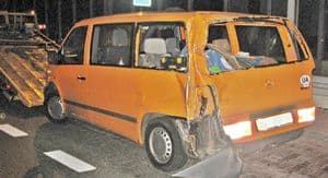 Tir rozbił ukraińskiego busa