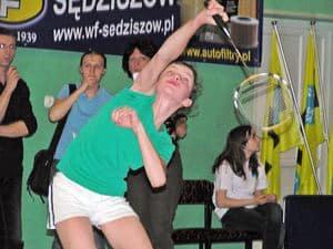 Badmintonistka z Ropczyc grała w mistrzostwach kontynentu
