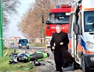 Zginęła licealistka, potrącił ją motocyklista – galeria ZDJĘĆ