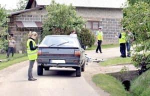 """Policjanci kazali  dziecku """"dmuchnąć"""""""