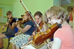 Warsztaty skrzypków rozpoczęły Festiwal Galicja – galeria ZDJĘĆ