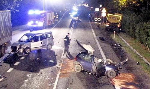 Kierowca zmarł  w drodze do szpitala