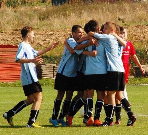 Błękitni Ropczyce – Ekoball Sanok 3-0 (juniorzy starsi)  – galeria ZDJĘĆ