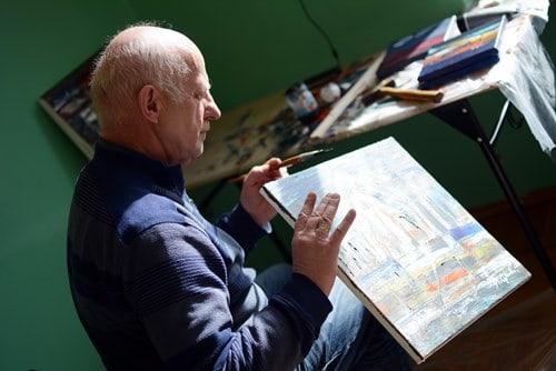 Podkarpaccy artyści malowali Iwierzyce  – galeria ZDJĘĆ