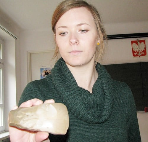 Znalazł siekierkę z kamienia. Ma 5 tysięcy lat