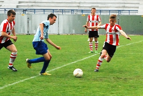 Błękitni Ropczyce – Resovia 0-5 (juniorzy st.) – galeria ZDJĘĆ