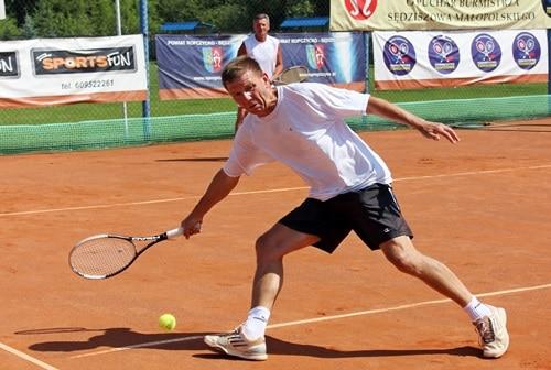 Finał tenisowego turnieju o puchar burmistrza Sędziszowa – galeria ZDJĘĆ