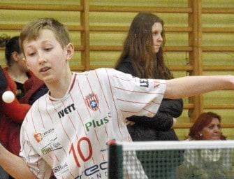 Turniej tenisa stołowego w Sędziszowie – ZDJĘCIA