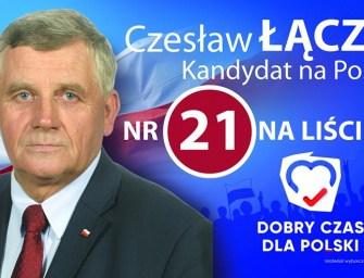 Czesław Łączak. Więzień stanu wojennego, społecznik i człowiek kochający pracę na roli.