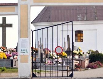 18-latek w areszcie. Zdewastował nagrobki w Sędziszowie Małopolskim