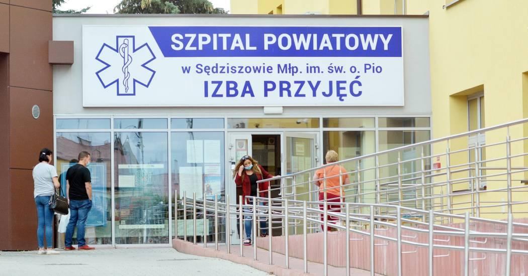 szpital sedziszow malopolski dariusz kielek