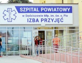 Szpital w Sędziszowie z ogniskiem koronawirusa