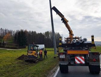 Droga wojewódzka w Broniszowie będzie oświetlona